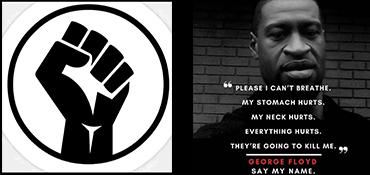 solidarität mit black lives matter!